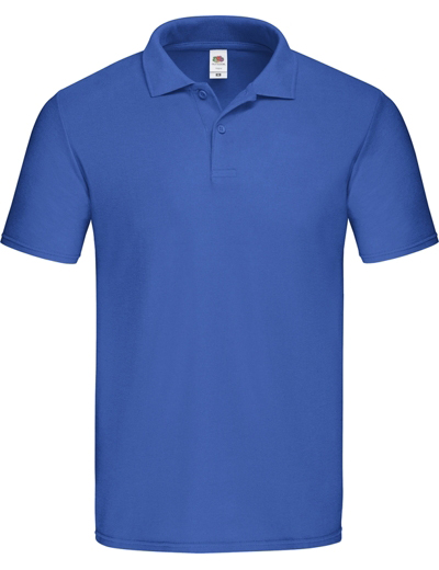 F66•ORIGINAL POLO, 2XL,  out-royal blue (07)